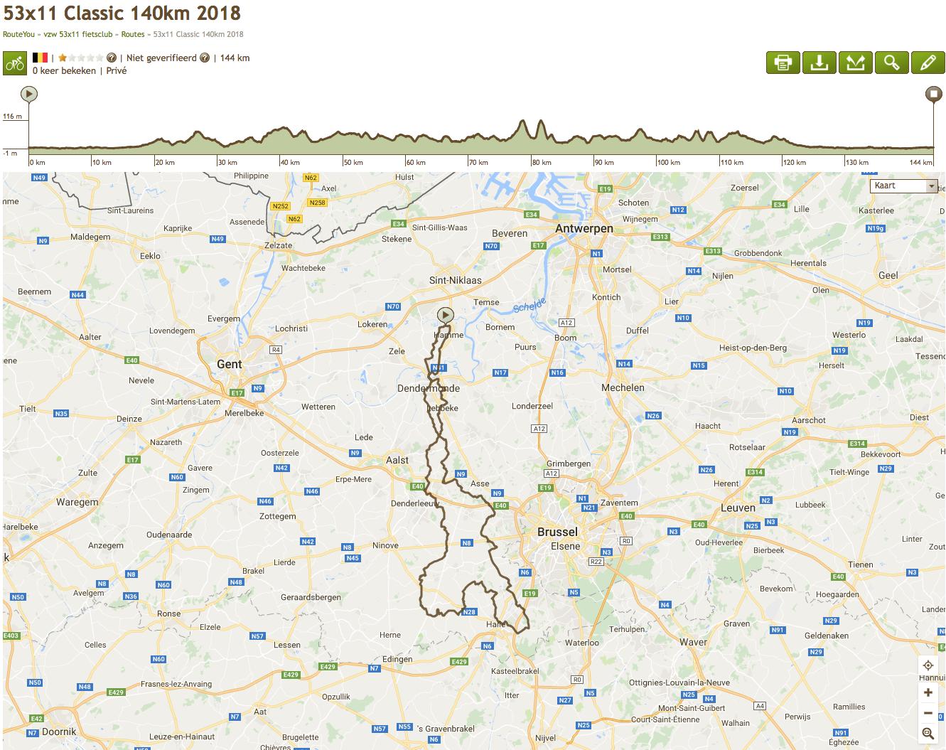 53x11 Classic 140km 2018
